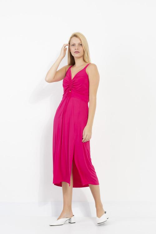 Vestido Kate Midi Em Jersey Com Alças