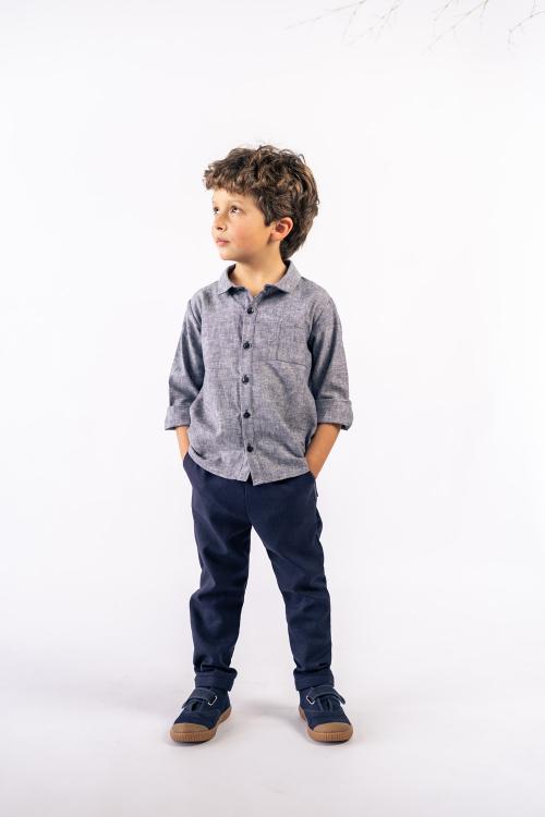 Camisa Alecrim  Kids Em linho