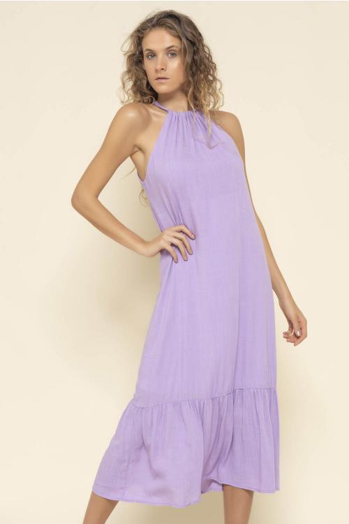 Vestido Flow Feminino Cava Americana
